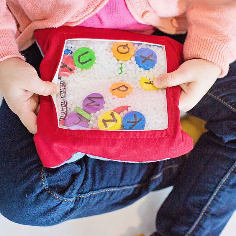 Toys and Tools for Teaching - ABC Look and Feel Bag