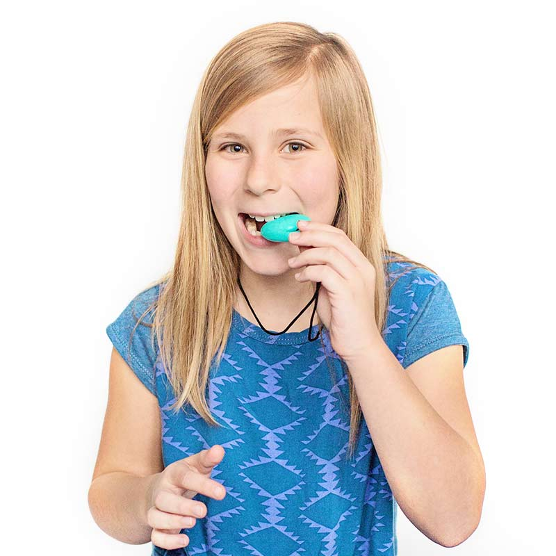 Safety Tips - Chewable Jewelry for Kids with ADHD - Egg Pendant