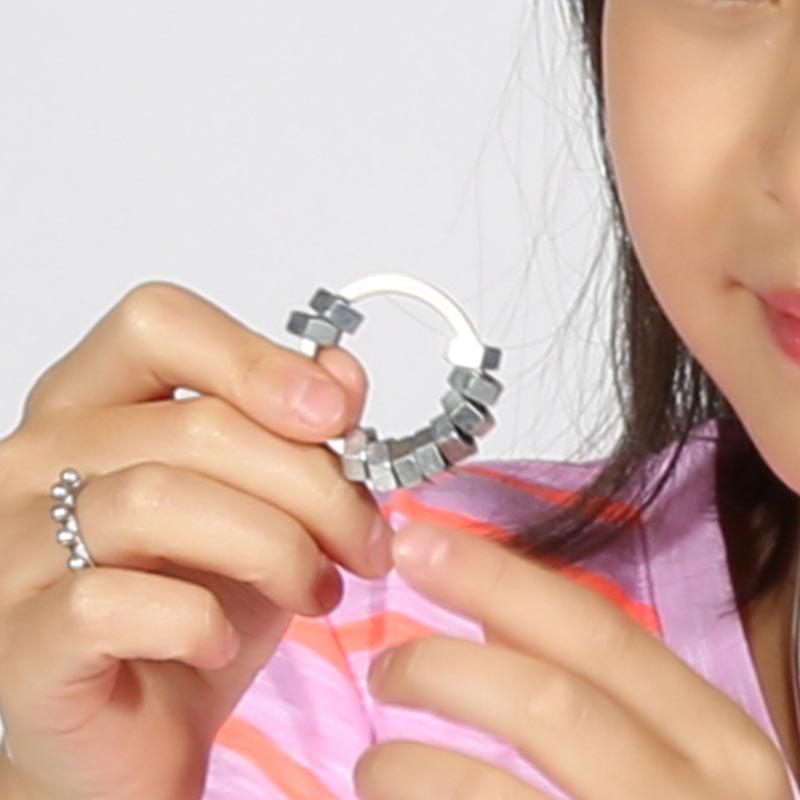 Metal Fidget Ring