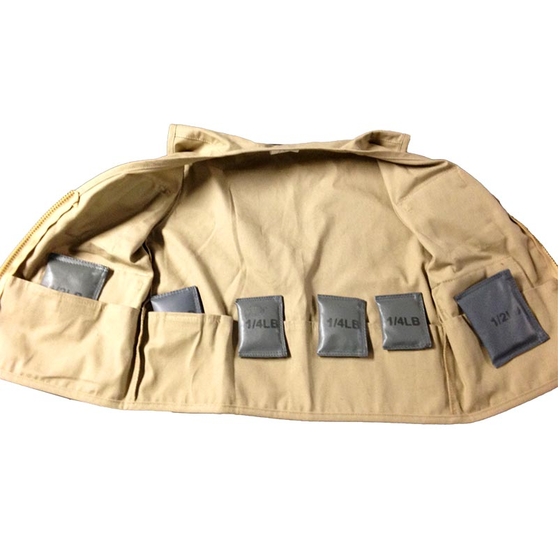 Wearing Times for Weighted Vests - Explorer Vest - Inside View