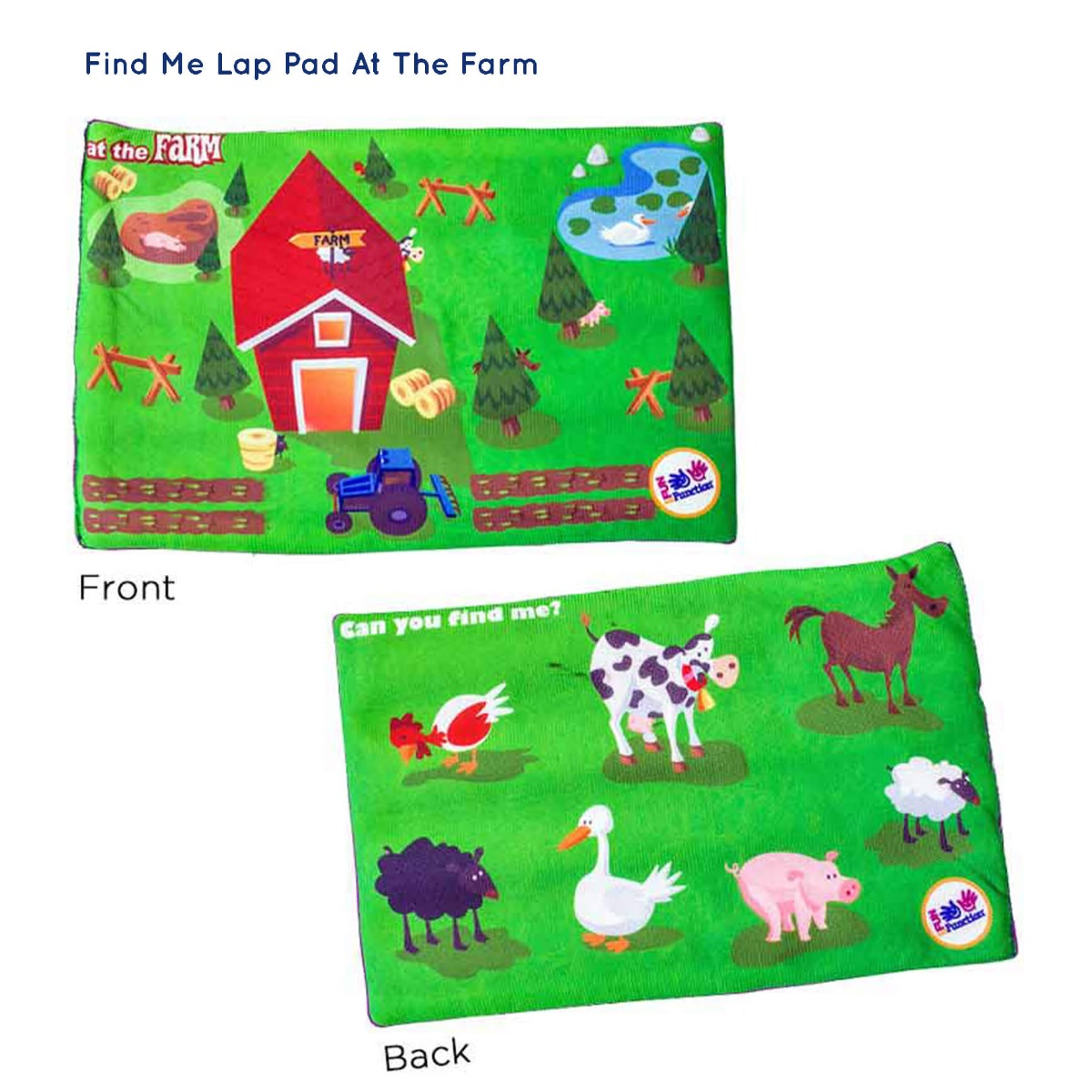Sensory Holiday Gift Guide 2017 - Find Me Lap Pad
