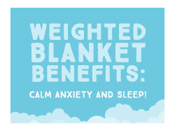 Weighted Blanket Benefits: Calm Anxiety and Sleep!