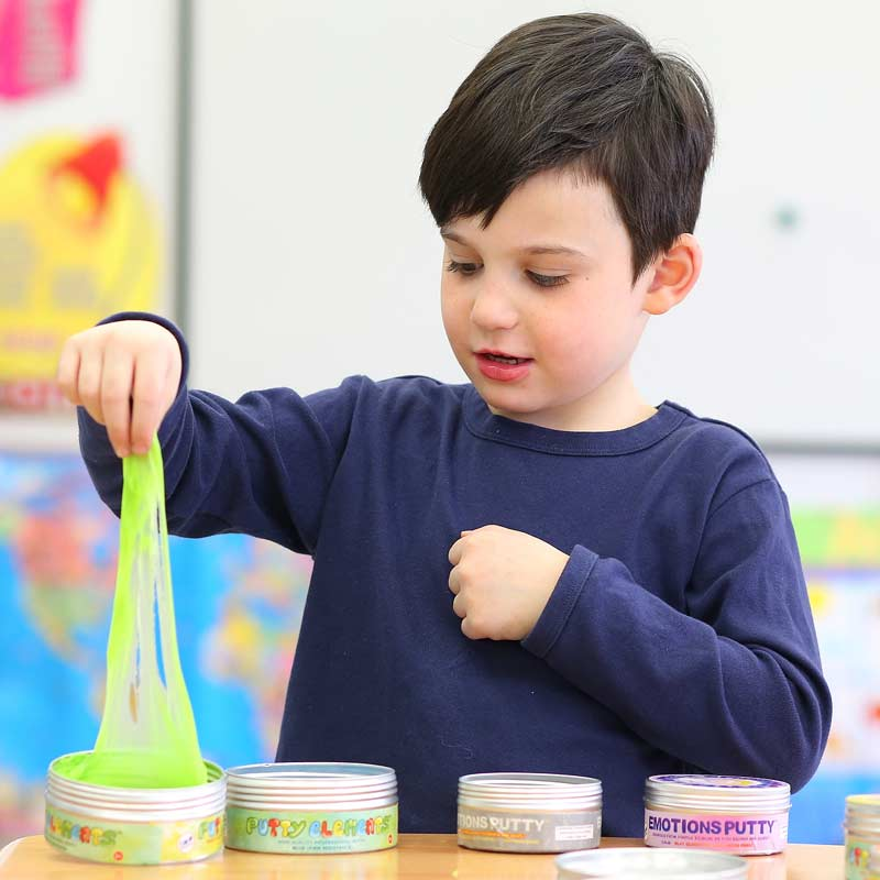 Winter Exercise for Sensory Seekers - Discovery Putty