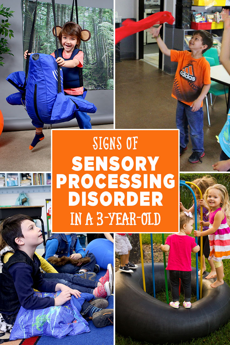 Signs of Sensory Processing Disorder in a 3-year-old