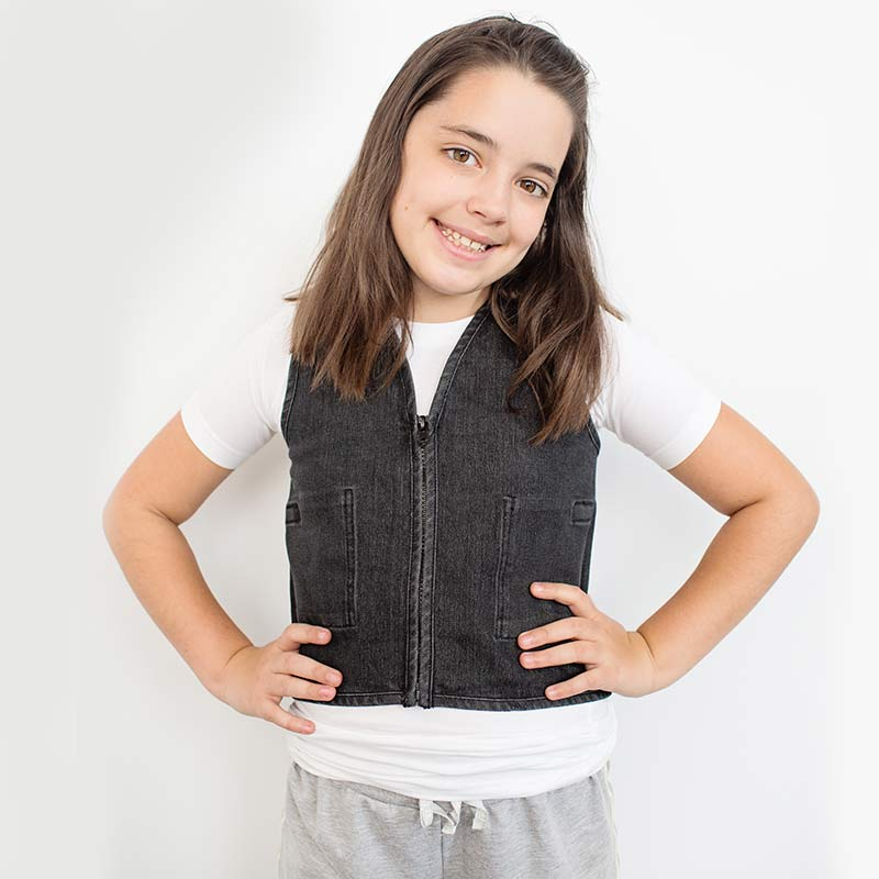 Wearing Times for Weighted Vests - Stretch Denim Weighted Vest