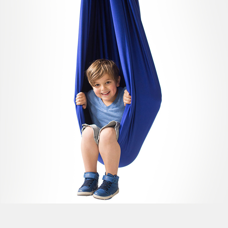Winter Exercise for Sensory Seekers - Raindrop Swing