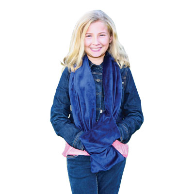 Sensory Survival For Teens - Weighted Pocket Scarf