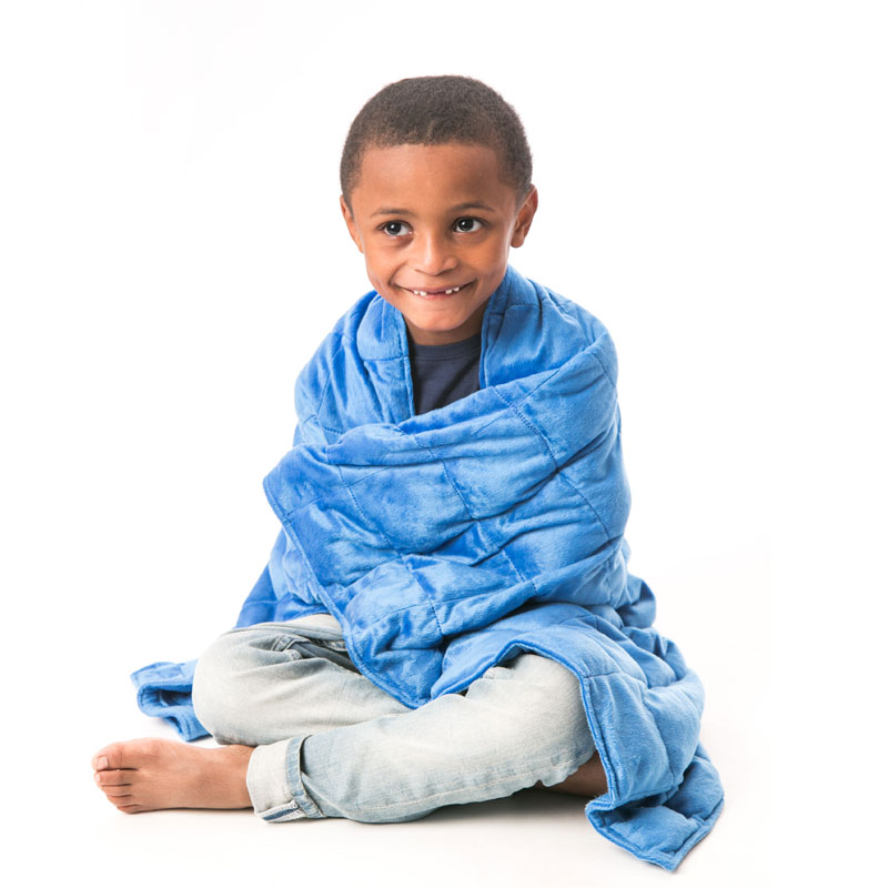 The Benefits of Weighted Blankets - Soft Plush Weighted Blanket