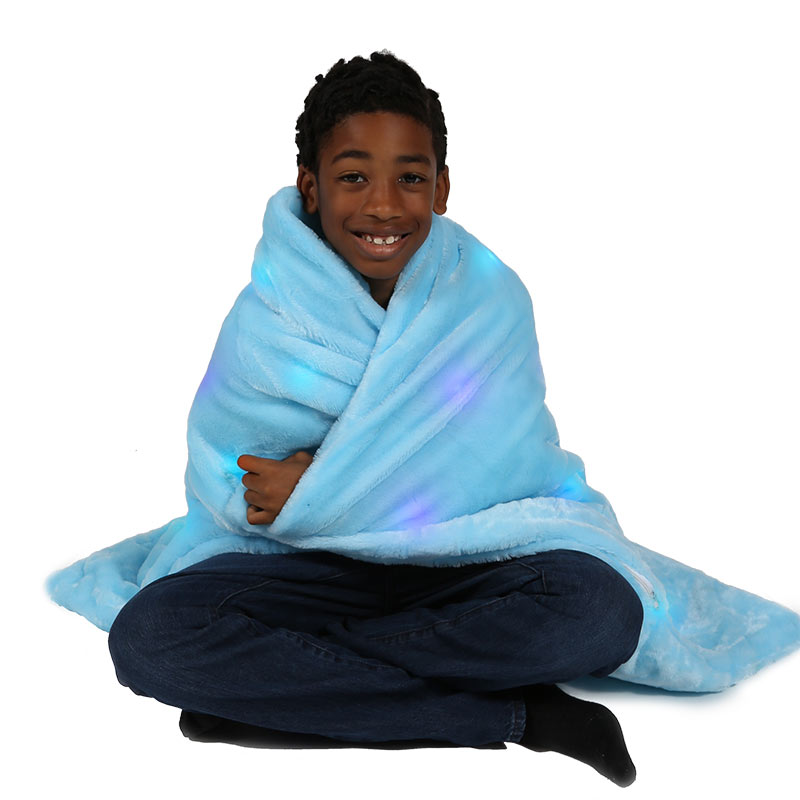 The Benefits of Weighted Blankets - LED Blanket