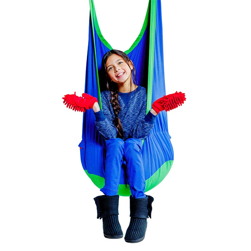 Solutions for 7 types of Sensory Needs - Cocoon Climbing Swing