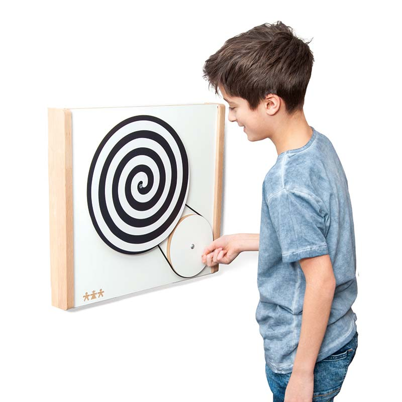 Solutions for 7 types of Sensory Needs - Optical Illusion Wall Panel
