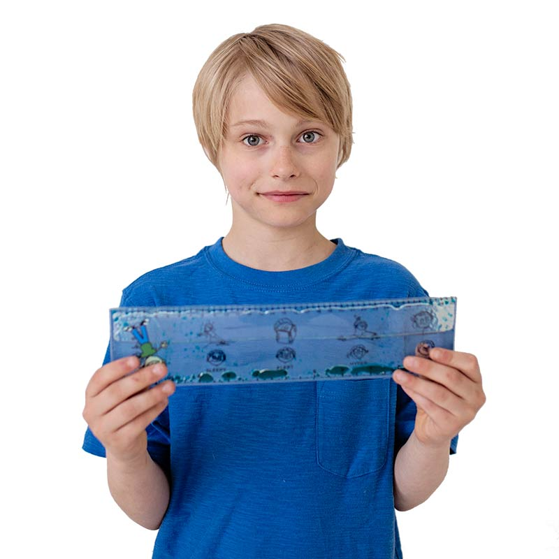 Sensory Solutions for Teens and Adults - Reggie Regulation Ruler