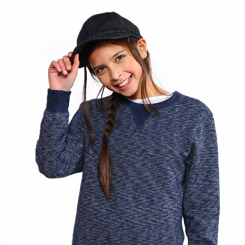 Sensory Solutions for Teens and Adults - Denim Weighted Baseball Cap